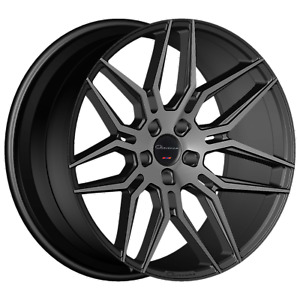 Giovanna Bogota 20 Staggered Black Smoked 5x120 25 20x9 20x10 5 Concave