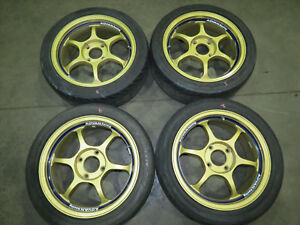 Rare Wheels Jdm Advan Racing Rg Rims 4x114 3 Pattern 16x7 44et Ctr Dc2 Ek Itr