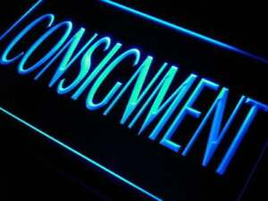 Consignment Led Neon Light Sign