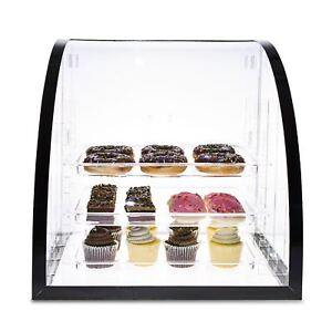 Source One Llc Deluxe Food Bakery Display Case Countertop Large Clear Premium