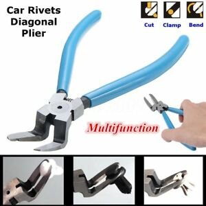 Panel Rivets Buckle Removal Clamp Trim Clip Pliers Auto Hand Repair Tools O