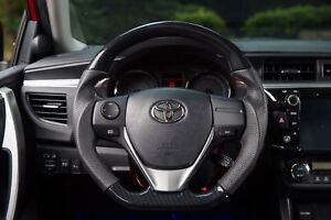 Mit Toyota Corolla Im 2014 2018 Carbon Fiber Look Leather Steering Wheel Sports