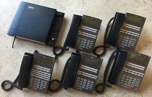 Nec Dsx 40 Key Telephone System With 5 Dsx Display Telephones