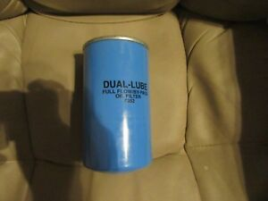 Dual Lube Oil Filter 7382
