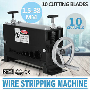 New Manual Copper Wire Stripping Machine Cable Stripper Scrap Metal Recycle Tool