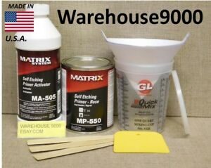 Mp 550 Self Etching Primer Rose Color Kit With Quart Of Ma 505 Activator