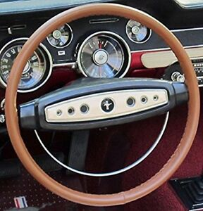 Tan 15 X 2 1 2 Genuine Cowhide Leather Steering Wheel Cover By Wheelskins