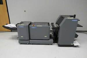 Duplo Dsf 2000 Sheet Feeder Dbm 120 Sxs Booklet Maker Horizon Morgana