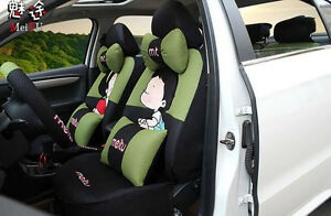 20ps set New Cute Cartoon Universal Car Seat Covers Car Cushion Seat Covers V06