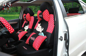 20ps set 2017 Cute Cartoon Universal Car Seat Covers Car Cushion Seat Covers V08