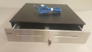 Par M2352a Pos Cash Drawer With Cable And Key Refurbished