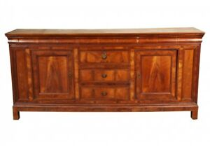 Late 18th Early 19th C Antique Cherry French Sideboard Server Cabinet 61511