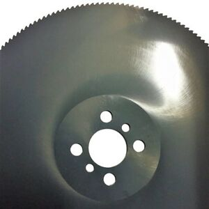 350 X 3 0 X 40 Industrial Cold Saw Blade Hss M2 Dmo5 Stainless Steel
