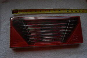 New Snap On oexl707b 7 Piece Long Handle Comb 12 Pt Wrench Set Sae 3 8 To 3 4