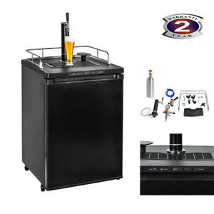 5 6 Cu Ft Kegerator Beer Dispenser Beverage Cooler Fridge Electronic Control