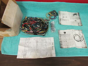 1949 Mercury Car Main Cowl Dash Wiring Harness Nors 318