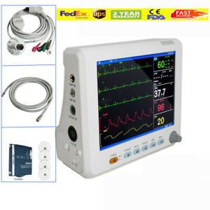 Medical Color Icu Ccu Vital Signs 6 parameter Patient Monitor Cardiac oximeter