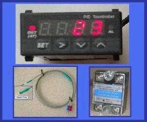 1 32 Mini Pid Controller Ssr For Rancilio Silvia Espresso Coffee Machine Brewing
