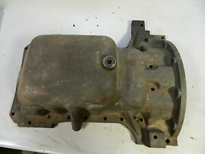 New Holland Ls180b Oil Pan P n 504063929 Skid Steer Loader Part