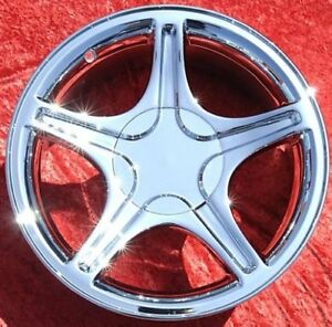 Set Of 4 Chrome 17 Ford Mustang Gt Factory Oem Wheels Rims 3307