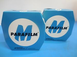 Parafilm m Pm 992 Laboratory Film 2 In X 250 Ft Lot Of 2