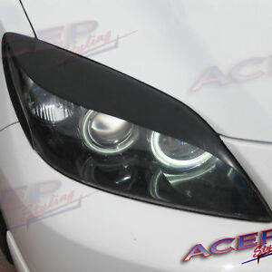 Acep aggressor Fits Mazda 04 09 Mazda3 Speed3 Hatchback Cove Eyelid Headlight