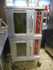 Blodgett Double Stack Electric Convection Oven 220v 3 Phase Refurbished