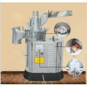 Df 40s Automatic Continuous Herb Grinder Hammer Mill Pulverizer 40kg h E
