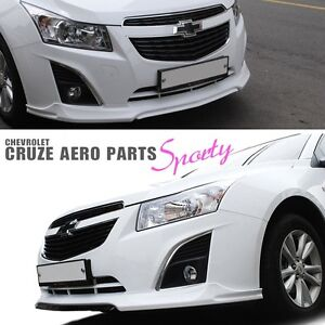 Front Bumper Lip Diffuser For Chevy Holden Cruze 2013 2014 2015