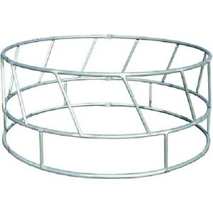New Round Bale Feeder 96 l X 96 w X 42 h Galvanized