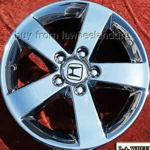 Set Of 4 Chrome 16 Honda Civic Oem Wheels Rims Accord Prelude Pilot 63899