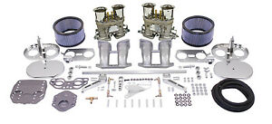 Premium Dual 44 Hpmx Carburetor Kit For Type 2 Type 4 Dunebuggy Vw