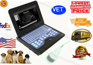 Veterinary Laptop B ultrasound Diagnostic System Scanner 3 5 Micro covex Probe