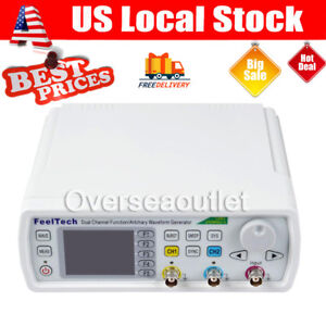 30mhz Feeltech Fy6600 Dds 2ch Function Arbitrary Waveform Generator Frequency Me