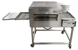 Lincoln 1132 000 u 61 Electric Conveyor Oven Impinger Ii Series With Cart