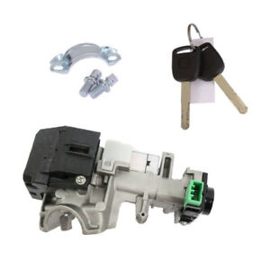 Ignition Switch Cylinder Lock Trans 2 Keys Trim Fit For 2003 2007 Honda Accord