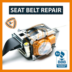 For Honda Civic Seat Belt Repair Unlock After Accident Fix Seatbelts