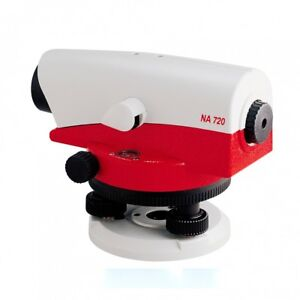 Leica Na720 20x Automatic Optical Level For Surveying One Year Warranty