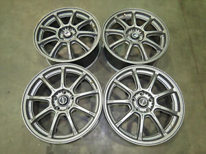 Genuine Jdm Rays Gram Lights 57g Wheels 18x7 5 48 Rims 5x114 3 Pcd set Of 4