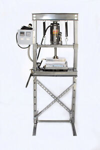 Rosin Press H frame Plant Oil Extractions Manually Or Pneumatic Operated Led