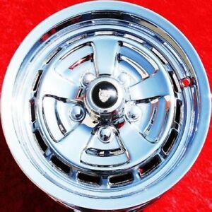 Set Of 4 Chrome 15 Jaguar Xj12 Xj6 Xjs Kent Factory Oem Wheels Rims 59648