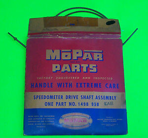 1953 1954 Plymouth Nos Speedometer Cable Mopar Oem 1498958 W Std Transmission