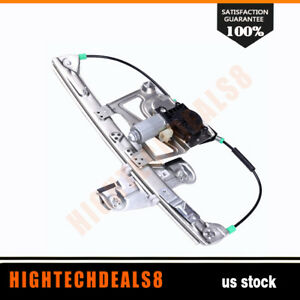 Power Window Regulator Driver Side Front With Motor For 2000 01 Cadillac Deville