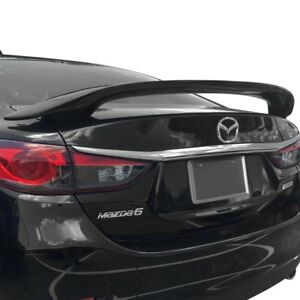 2014 And Up Unpainted Mazda 6 Custom 2post Pedestal Spoiler With Light