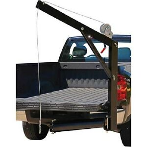 New Pickup Truck Hitch Crane 600 Lb Capacity