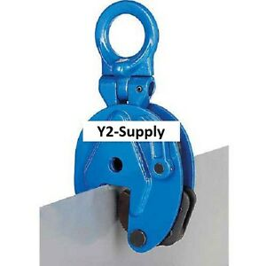 New Vertical Plate Clamp Lifting Attachment 4000 Lb Capacity
