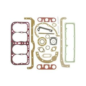 Model A Ford Engine Gasket Set 22 Pieces With Silicone Seal Head Gasket