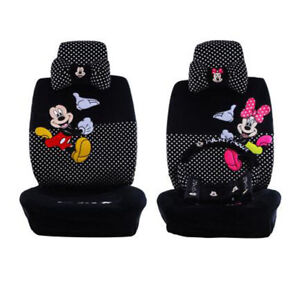 2018 Plush 1 Set Standard Cute Cartoon Mickey Mouse Universal Car Seat Cover 803