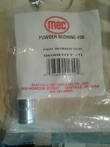 MEC Powder Bushing #36 Part Number 5036  New!