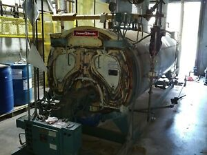 Cleaver Brooks Cbe200 100 Steam Boiler 150 Psi 100 Hp Dual Fuel
